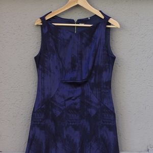 Elie Tahari Blue Dress